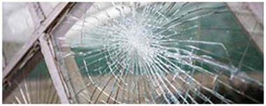 Richmond South Yorkshire Smashed Glass